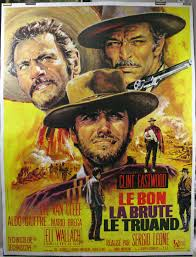 Good Bad Ugly The Good The Bad And The Ugly Original Sergio Leone Movie Poster