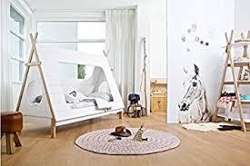 tipi pour chambre lit tipi pour chambre d enfant méthode montessori amazon fr