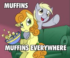 Meme My Little Pony - image 10333 carrot top derpy hooves macro meme popcorn jpg