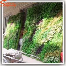 best selling artificial vertical garden green plant wall for hotel