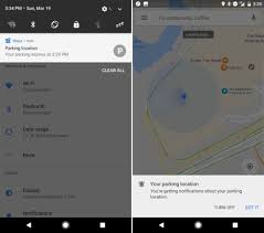 you can now save your parking location on google maps android