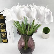 Popular Bridal Bouquet Flowers - popular bridal bouquet calla lilies buy cheap bridal bouquet calla