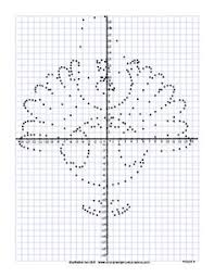thanksgiving graph thanksgiving activities graphing coordinates