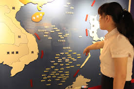Show Me A Map Of China by South China Sea Where Did China Get Its Nine Dash Line Time Com