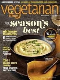 vegetarian times today magazine recipes eat your books