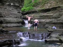 Robert H Treman State Park Map by New York State Turns Sour At Buttermilk Falls Notes From Owl Gorge