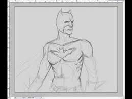how to draw batman or the dark knight character step by step youtube