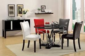 Modern Round Dining Room Tables Useful Modern Round Dining Room Table With Additional Home