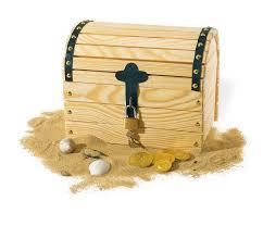 fabrication de coffre en bois pinolino jouet en bois coffre à trésor ali baba amazon fr