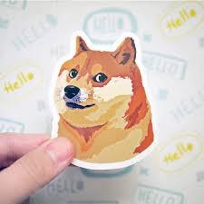 Shiba Inu Meme - doge sticker shiba inu sticker funny meme stickers cute