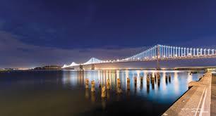 Bay Bridge Lights The Electrical Worker Online