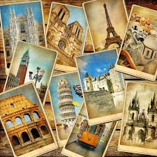 imagenes vintage viajes vintage travel collage background wall mural pixers we live to