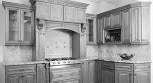painted and stained kitchen cabinets kitchen decoration