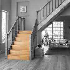 B And Q Flooring Laminate Stair Klad Oak Veneer Stair Flooring Tread Riser Kit Departments