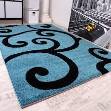 Wohnzimmer Teppiche Modern Modern Türkis Kogbox Com