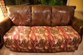 Easy Clean Upholstery Fabric Easy Quick Fix For A Battered Couch With Upholstery Fabric Hometalk