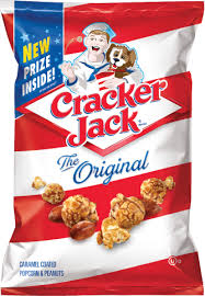 personalized cracker jacks cracker original caramel coated popcorn peanuts