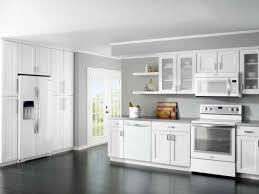 beautiful white kitchen cabinet color schemes for dark wood floors