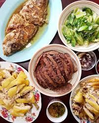 cuisine reunion fish kiu nyuk and hakka steamed salted chicken hakka dishes for