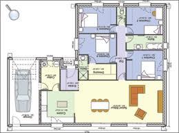 norme handicapé chambre plan de maison pour handicape norme pp111 m2 4 chambres normes