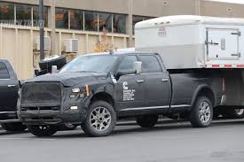 cummins truck spied 2018 ram 2500 3500 heavy duty with updated cummins