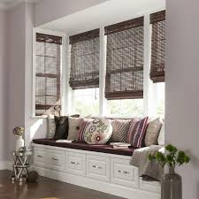 Dark Brown Roman Blinds Shades Wonderfull Lowes Blinds And Shades Cordless Blinds Window