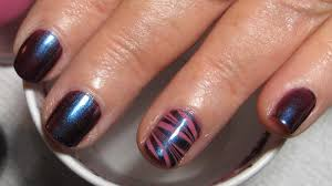 mom u0027s short nails water marble accent nail art tutorial water