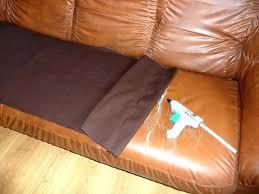 rénovateur cuir canapé reparation canape simili cuir lyon renovation d comment