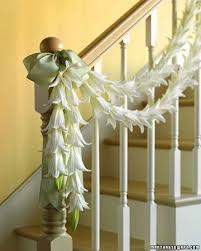 Stairs Decorations by 9 Best Wedding Banister Staircase Decorations Images On Pinterest