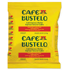 espresso ground coffee cafe bustelo espresso ground coffee fraction packs 2 oz 30 count