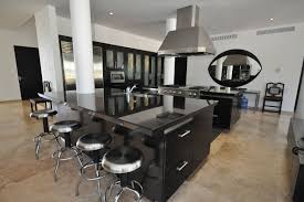 huge kitchen island zamp co huge kitchen island contemporary black kitchen island with industrial bar stools design feat large exhaust hood