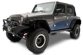 flat gray jeep rampage fender flares fast shipping partcatalog com
