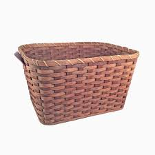 wicker laundry hampers amish made hand woven large laundry basket large laundry basket