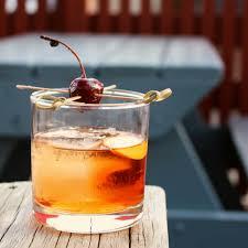 old fashioned cocktail garnish aaron parecki