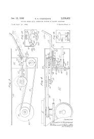 patent us3229452 riding mower with interlock system of safety