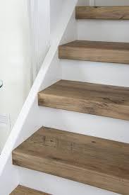 bullnose oak treads the right step pinterest redo stairs