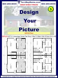 floor plans for duplexes modular homes duplex plans priced