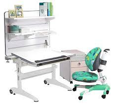 Children S Computer Desk Smart Jr 107 Desk Set White Reosmart Tilt Desk Adjustable