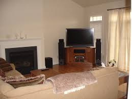perfect living room with tv in corner to decorating ideas
