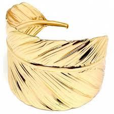 gold leaf bracelet images Gold leaf cuff bracelet lil 39 luxuries boutique online store jpg