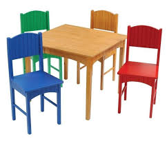 Kids Wooden Table And Chairs Set Desk Enchanting Chairs And Tables For Toddlers Kidkraft
