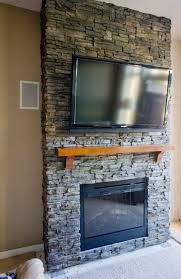 Unique And Beautiful Stone Fireplace by Beautiful Stone Fireplace Designs