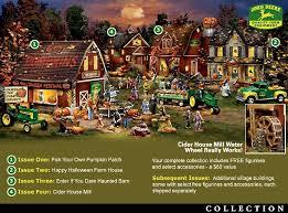 halloween fun blog john deere halloween village collection