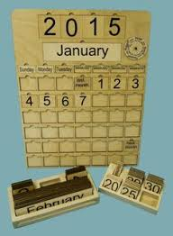 perpetual monthly wooden calendar by lauraellensshop on etsy my