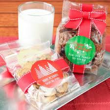 holiday cookie favors