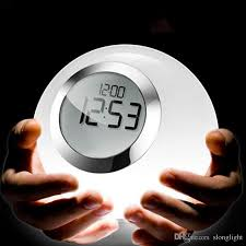 best light alarm clock best magic led alarm clock night light color changing horloge reloj