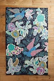 Anthropologie Kitchen Rug Anthropologie Badia Rug This Traditional Rug Gets A Lively Update