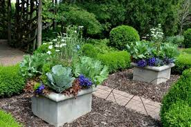container ideas pair flowers and vegetables together birds and