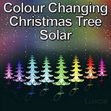 Colour Changing Solar Garden Lights - garden mile large solar powered colour changing led garden