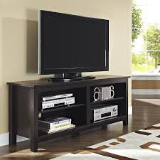 Dark Wooden Tv Stands Tv Stands 55in Tv Stand With Electric Fireplace Ideas Tv Stands